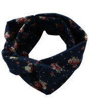 Everneed Annemone Headband Navy W. Flowers and Dots (5831) (U)