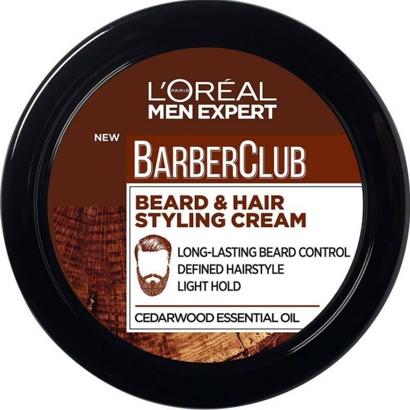 L 39 oreal paris men expert barberclub beard hair styling for Loreal salon hair products