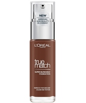 L'Oréal Paris Cosmetics True Match Foundation 30 ml - 11.N Dark Coffee (U)