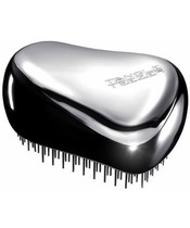 Tangle Teezer Compact Styler Hårbørste - Silver Chrome (U)