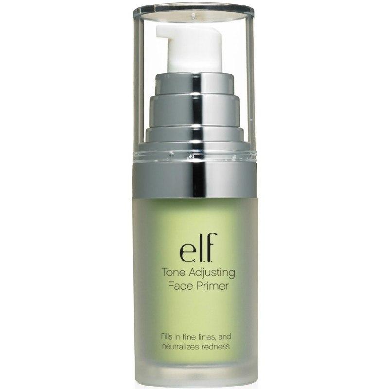 elf face primer tone adjusting green