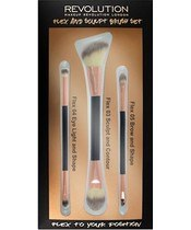 Makeup Revolution Flex And Sculpt Brush Set
