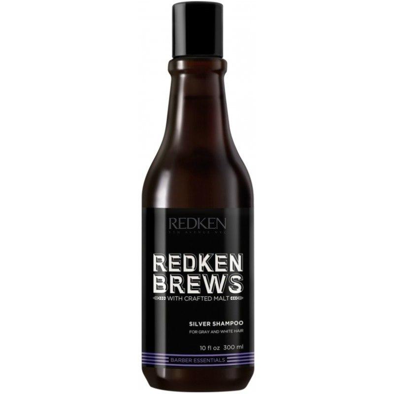 Redken Brews Men's Silver Shampoo 300ml