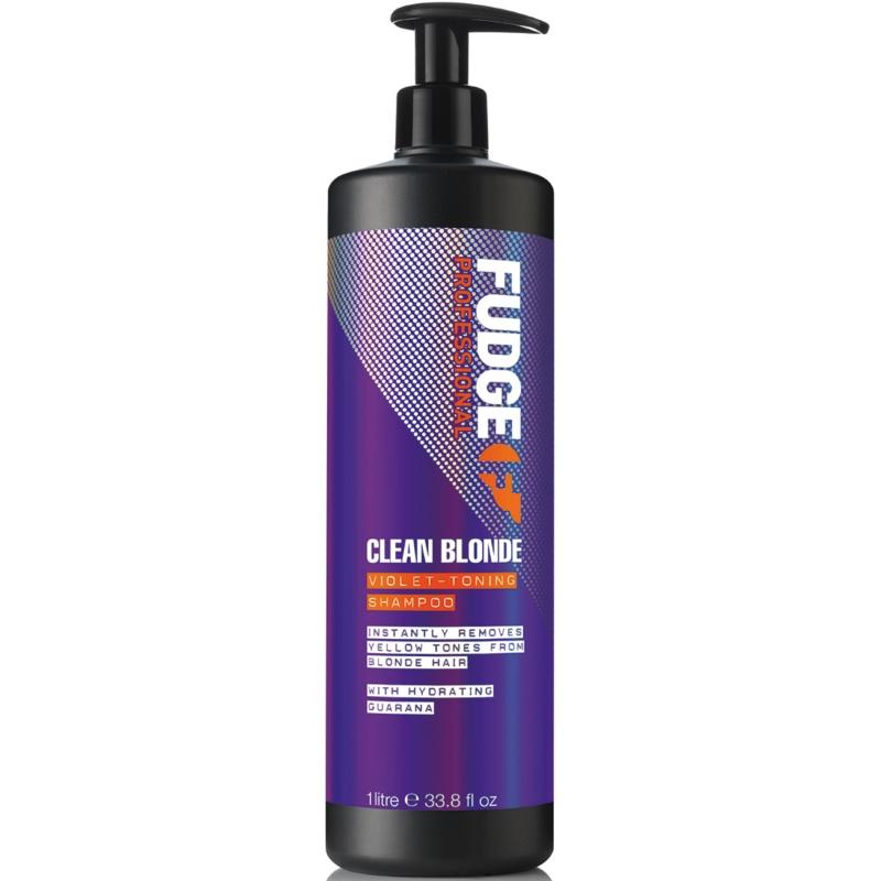 Fudge Clean Blonde Violet Toning Shampoo 1000 ml thumbnail