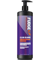 Fudge Clean Blonde Violet Toning Shampoo 1000 ml (U)