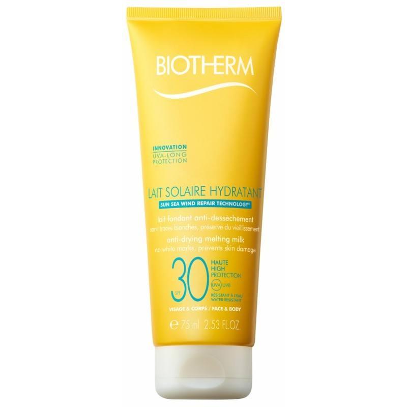 Biotherm Lait Solaire Hydratant SPF30 Zonbescherming 75 ml