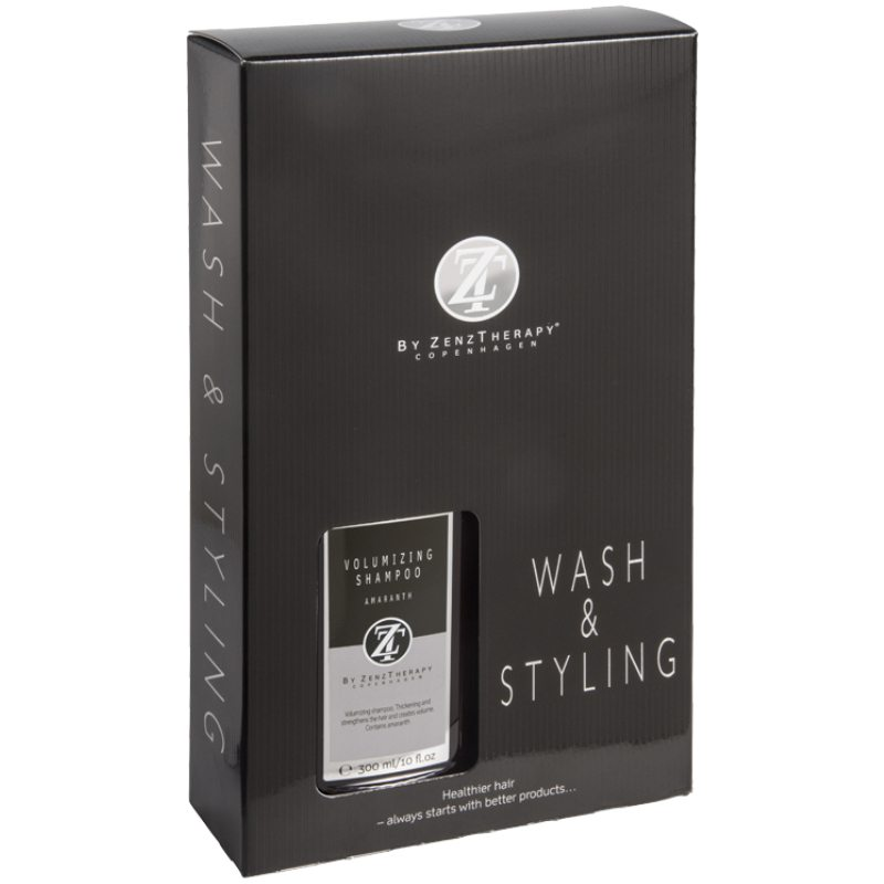 Billede af Zenz Therapy Wash & Styling Haircare Kit (Limited Edition)