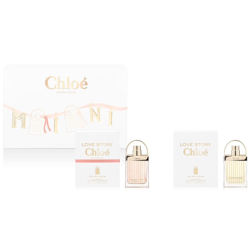 Chloe Les Mini Chloe Love Story And Love Story Sensuelle EDP Limited Edition