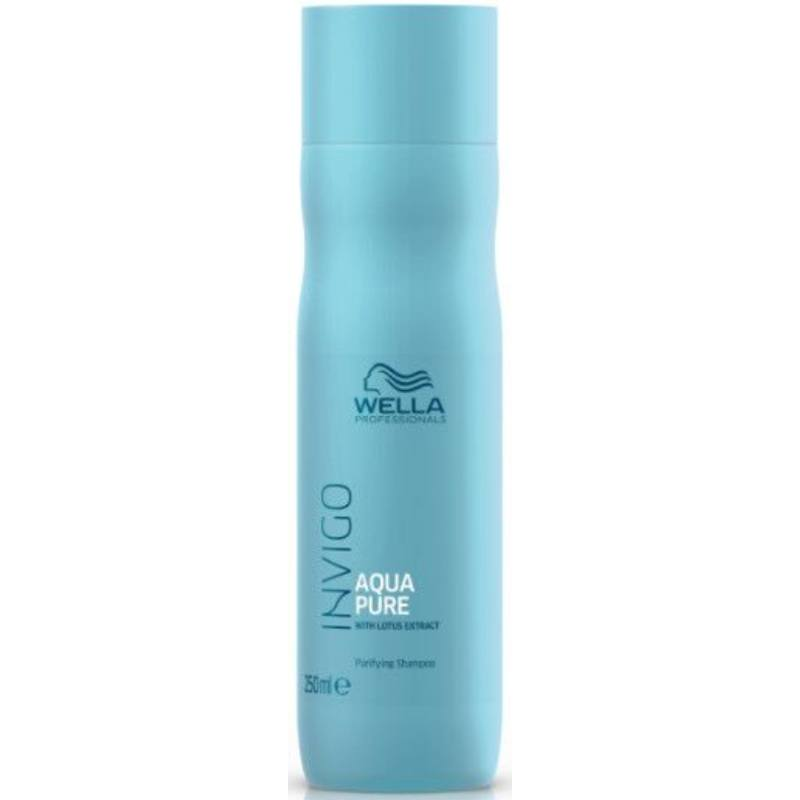 Wella Invigo Balance Aqua Pure Purifying Shampoo 250 Ml