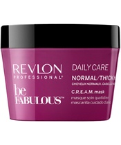 Revlon Be Fabulous Daily Care Normal/Thick Hair C.R.E.A.M Mask 200 ml