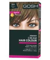 GOSH Hair Colour - 251 Medium Ash Brown (5.1)