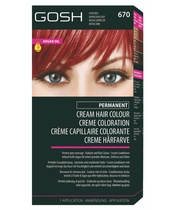GOSH Hair Colour - 670 Vivid Red (6.6)