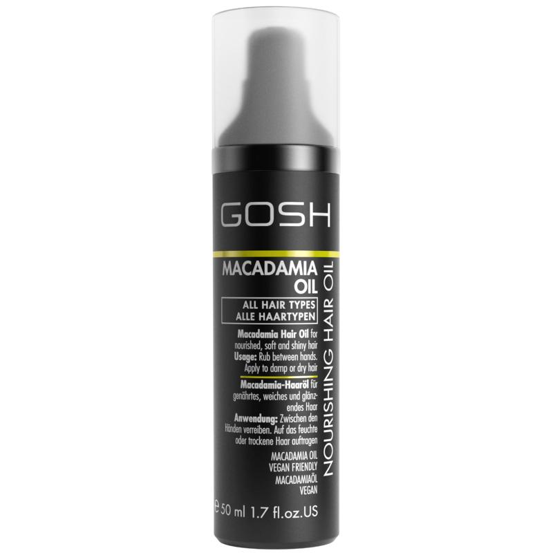 GOSH Nourishing Hair Oil Macadamia Oil 50 ml thumbnail