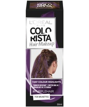 L'Oréal Paris Colorista Hair Makeup For Brunettes 30 ml - #PurpleHair