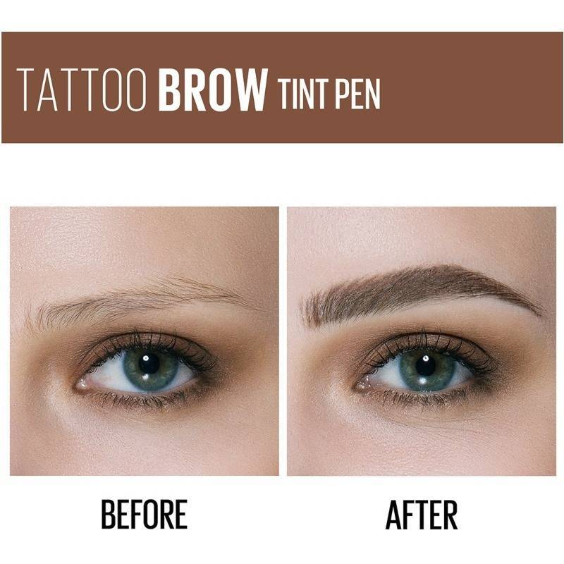 Maybelline Tattoo Brow Micro Pen Tint 1 1 Ml 120 Medium Brown Eyebrow tattoos are a new way for people with sparse or few eyebrows. maybelline tattoo brow micro pen tint 1 1 ml 120 medium brown