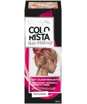 L'Oréal Paris Colorista Hair Makeup For Blondes 30 ml - #HotPinkHair