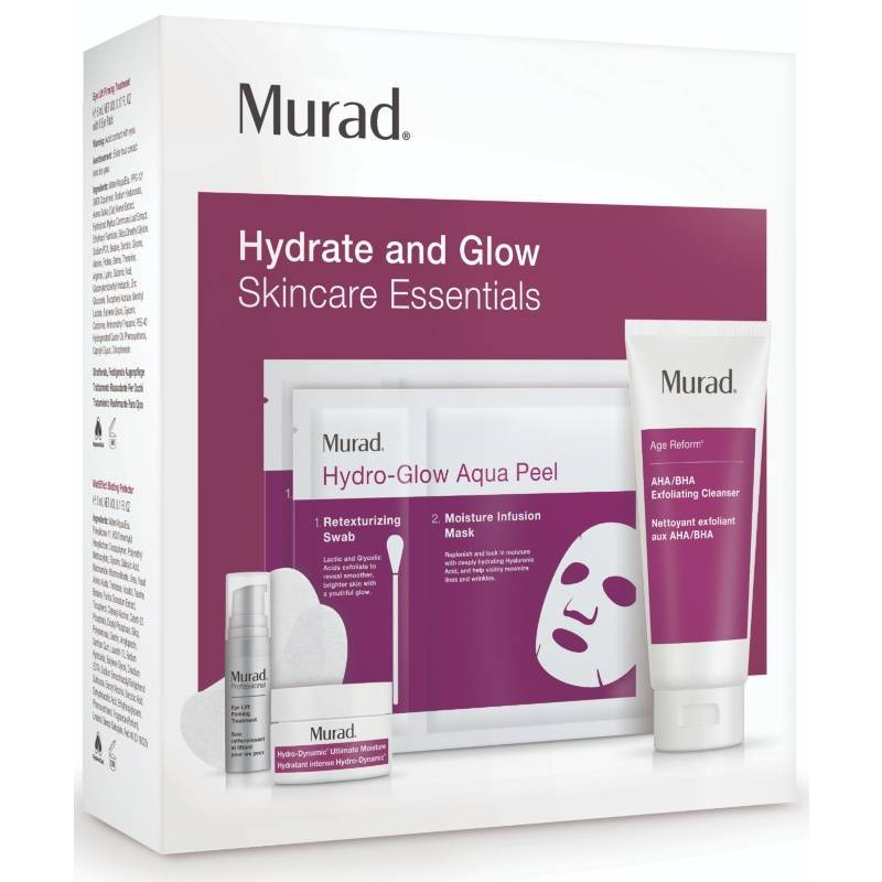 Murad Age Reform Hydrate And Glow Skincare Essentials Murad