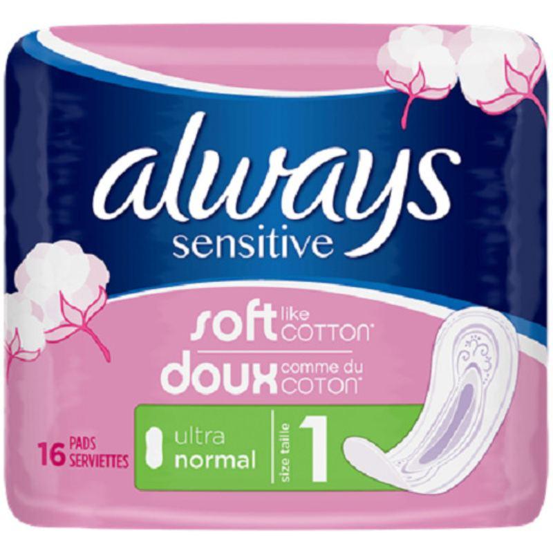 Always Sensitive Ultra Normal 16 Pieces thumbnail