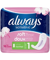 Always Sensitive Ultra Normal 16 Pieces