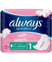 Always Sensitive Ultra Normal 14 Pieces