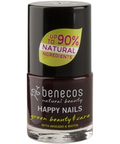 Benecos Happy Nails Nail Polish 9 ml - Vamp (U)