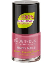 Benecos Happy Nails Nail Polish 9 ml - Flamingo (U)
