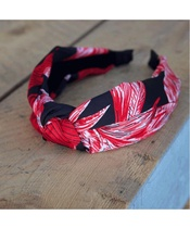 Lé Mosh Holly Black And Red Headband (US)