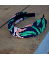 Lé Mosh Lena Navy Headband (US)