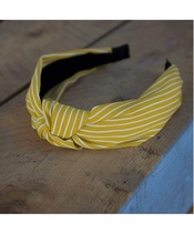 Lé Mosh Mary Yellow Headband (US)