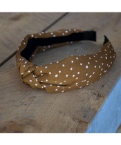 Lé Mosh Dolly Brown Headband (US)