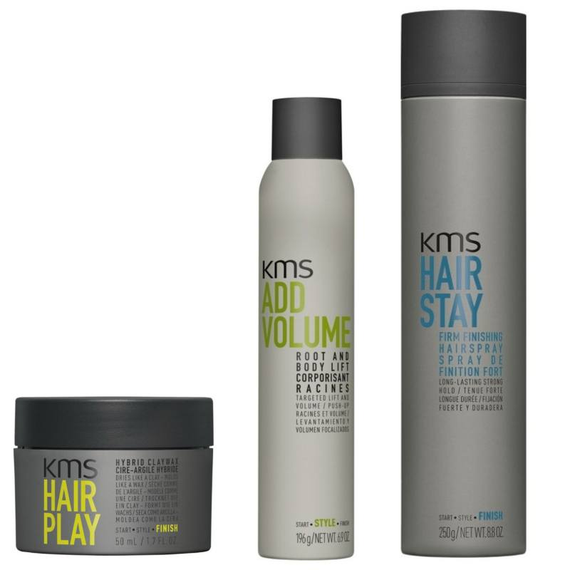 best short hair styling products kms styling volume amp texture hair 3645 | kms styling volume texture short hair 1