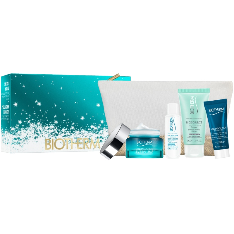 Biotherm Aquasource Everplump All Skintypes Skincare Set Limited Edition