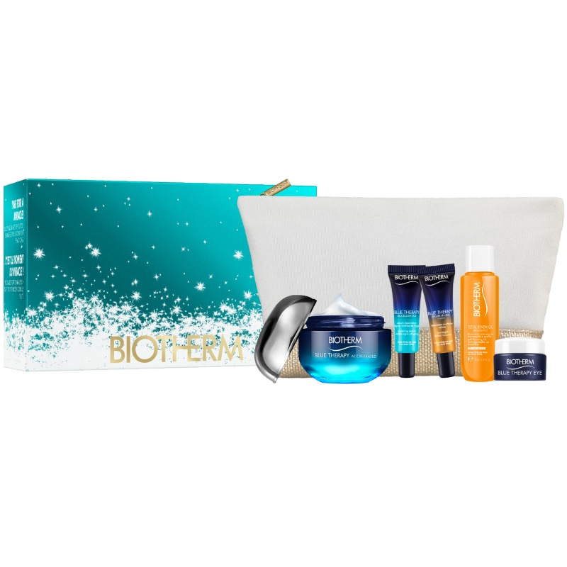 Biotherm Blue Therapy Accelerated All Skin Types Skincare Set Limited Edition