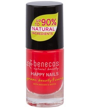 Benecos Happy Nails Nail Polish 5 ml - Hot Summer