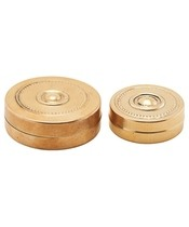 Meraki Storage Mini Brass Set Of 2 Sizes (Mkke11)