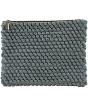 House Doctor Clutch Tofted Grey Large