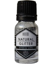 Mood Wood Natural Glitter 10 ml - Silver