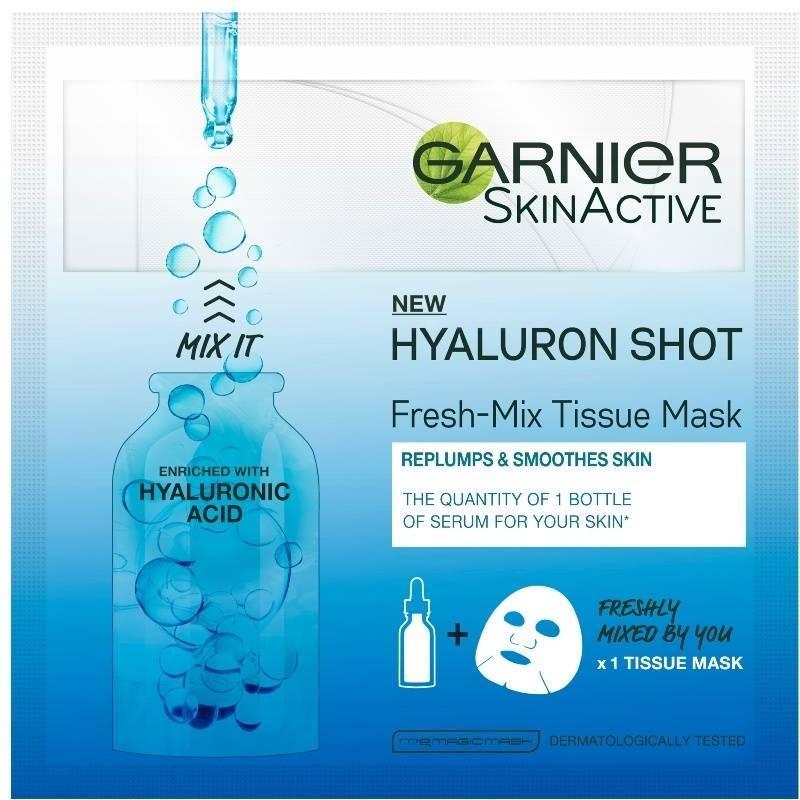 Billede af Garnier Skinactive Replumping Shot Fresh-Mix Tissue Mask 1 Piece