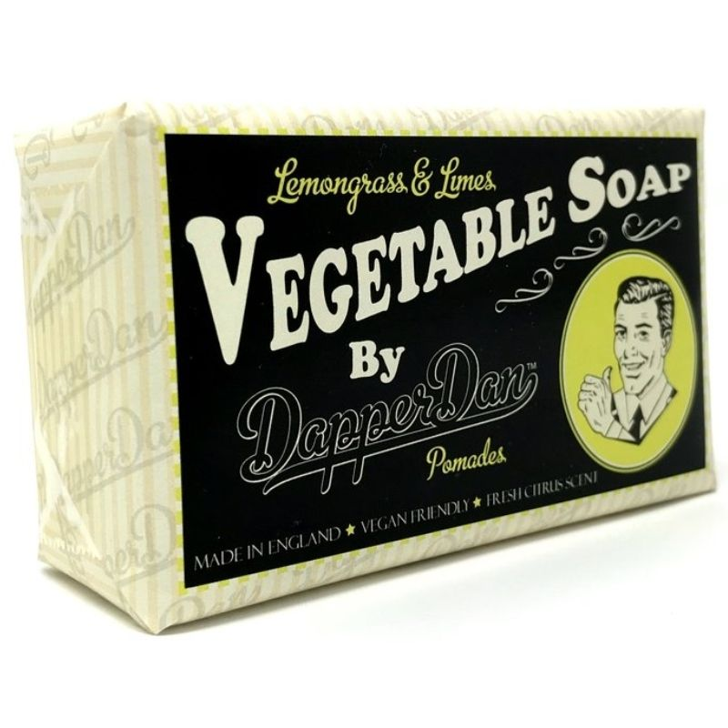 Dapper Dan Lemongrass & Limes Vegatable Soap 190 gr. thumbnail