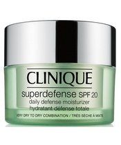 Clinique Superdefense Moisturizer SPF 20 Very Dry To Dry Combination 30 ml