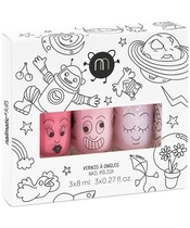Nailmatic Kids Nail Polish Set 3x8 ml - Cosmo (U)