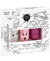 Nailmatic Kids Nail Polish Set 3x8 ml - Las Vegas