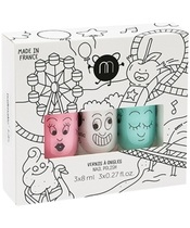 Nailmatic Kids Nail Polish Set 3x8 ml - Fun Fair