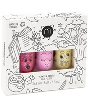 Nailmatic Kids Nail Polish Set 3x8 ml - Magic Forest