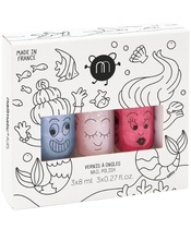 Nailmatic Kids Nail Polish Set 3 x 8 ml - Mermaid
