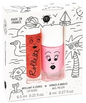 Nailmatic Kids Lip Gloss And Nail Polish Set - Holidays