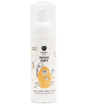 Nailmatic Kids Mousse Party Hair And Body Wash 150 ml - Abricot