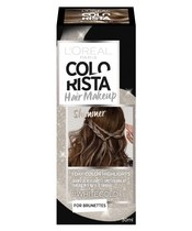 L'Oréal Paris Colorista Hair Makeup For Brunettes 30 ml - #Whitegold