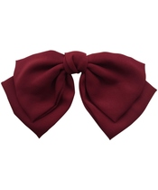 Göng Accessories Aida Hair Bow - Bordeaux (U)