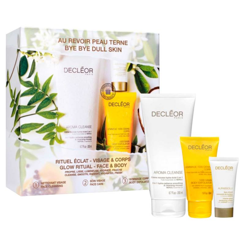 Decleor Glow Ritual  Face & Body Gift Set Limited Edition Decleor